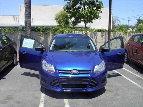 2012 Ford Focus for sale at MIKE AHWAZI in Santa Ana CA