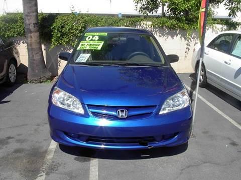 2004 Honda Civic for sale at MIKE AHWAZI in Santa Ana CA