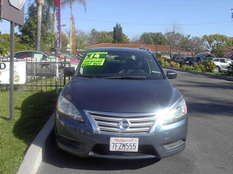 2014 Nissan Sentra for sale at MIKE AHWAZI in Santa Ana CA