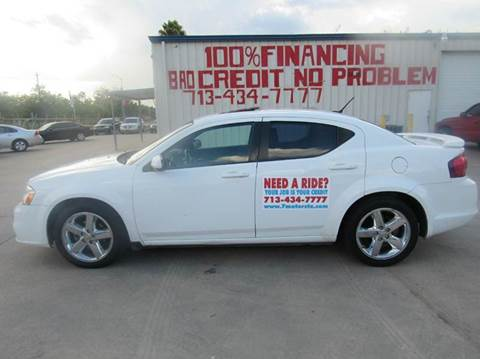 2011 Dodge Avenger for sale at SEVEN MOTORS INC. in Houston TX
