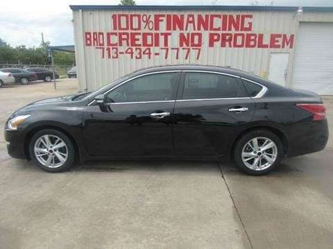 2013 Nissan Altima for sale at SEVEN MOTORS INC. in Houston TX