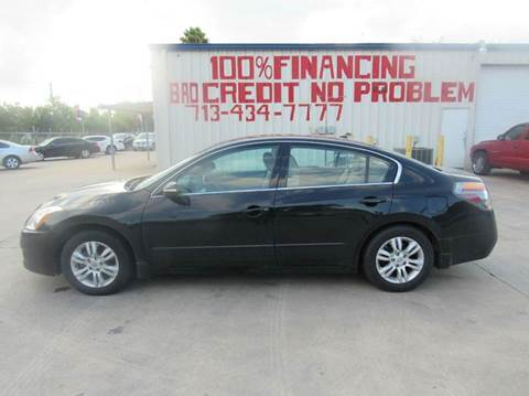 2010 Nissan Altima for sale at SEVEN MOTORS INC. in Houston TX