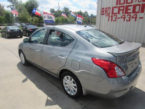 2013 Nissan Versa for sale at SEVEN MOTORS INC. in Houston TX
