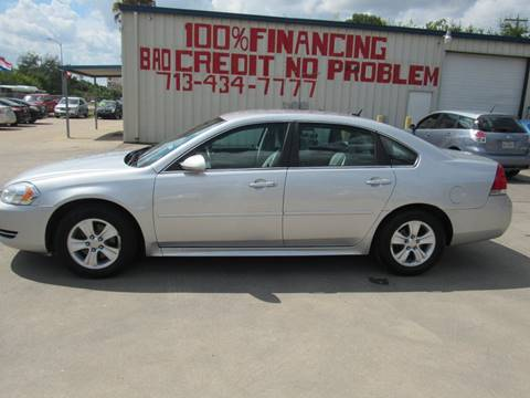 2012 Chevrolet Impala for sale at SEVEN MOTORS INC. in Houston TX