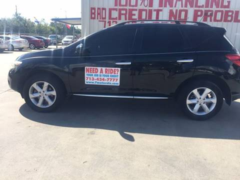 2009 Nissan Murano for sale at SEVEN MOTORS INC. in Houston TX