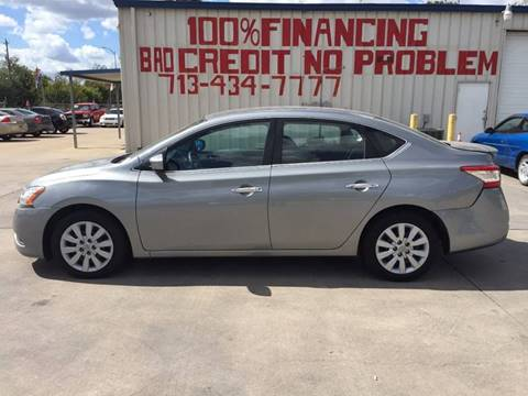 2014 Nissan Sentra for sale at SEVEN MOTORS INC. in Houston TX