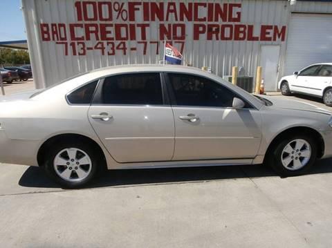 2011 Chevrolet Impala for sale at SEVEN MOTORS INC. in Houston TX