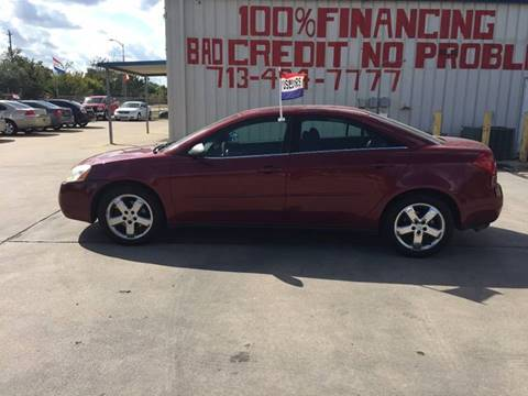 2005 Pontiac G6 for sale at SEVEN MOTORS INC. in Houston TX