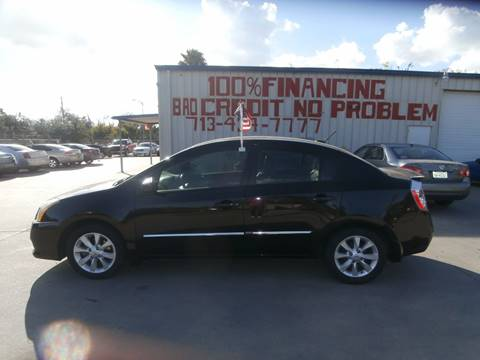 2012 Nissan Sentra for sale at SEVEN MOTORS INC. in Houston TX
