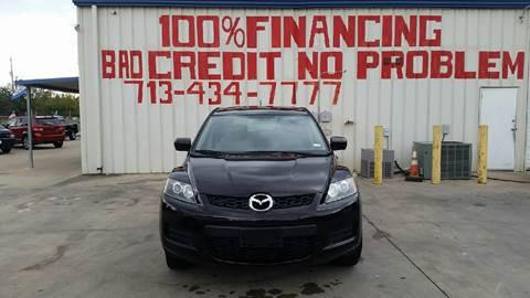 2008 Mazda CX-7 for sale at SEVEN MOTORS INC. in Houston TX