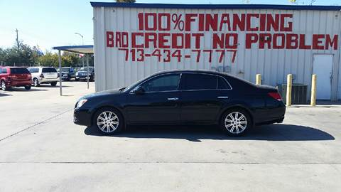 2010 Toyota Avalon for sale at SEVEN MOTORS INC. in Houston TX