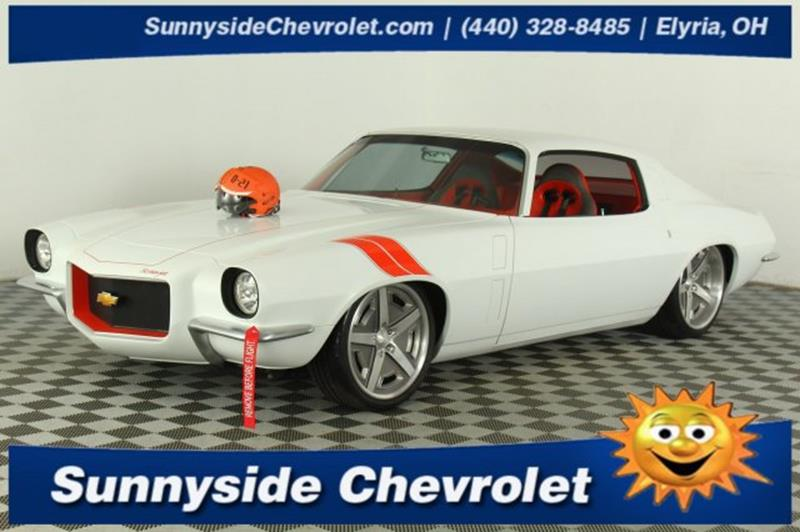 1970 Chevrolet Camaro Restomod In Elyria OH - Sunnyside Chevrolet