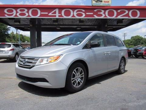 2012 Honda Odyssey for sale at AUTO SELECTION OF CHARLOTTE in Charlotte NC