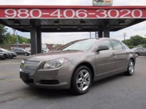 2012 Chevrolet Malibu for sale at AUTO SELECTION OF CHARLOTTE in Charlotte NC