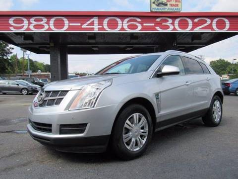 2012 Cadillac SRX for sale at AUTO SELECTION OF CHARLOTTE in Charlotte NC