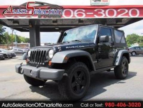 2009 Jeep Wrangler for sale in Charlotte, NC