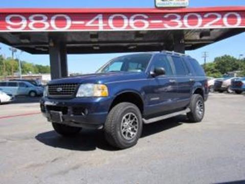 2005 Ford Explorer for sale at AUTO SELECTION OF CHARLOTTE in Charlotte NC