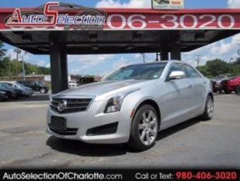 2014 Cadillac ATS for sale at AUTO SELECTION OF CHARLOTTE in Charlotte NC