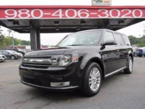 2013 Ford Flex for sale at AUTO SELECTION OF CHARLOTTE in Charlotte NC