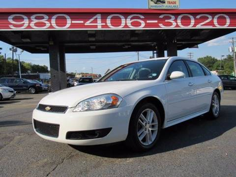 2012 Chevrolet Impala for sale at AUTO SELECTION OF CHARLOTTE in Charlotte NC