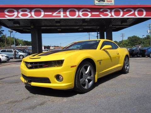 2010 Chevrolet Camaro for sale at AUTO SELECTION OF CHARLOTTE in Charlotte NC