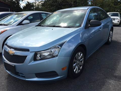 2011 Chevrolet Cruze for sale at AUTO SELECTION OF CHARLOTTE in Charlotte NC