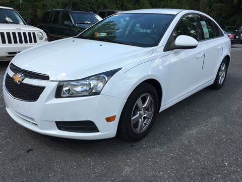 2013 Chevrolet Cruze for sale at AUTO SELECTION OF CHARLOTTE in Charlotte NC