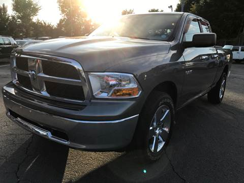2009 Dodge Ram Pickup 1500 for sale at AUTO SELECTION OF CHARLOTTE in Charlotte NC