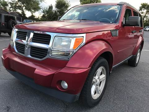 2008 Dodge Nitro for sale at AUTO SELECTION OF CHARLOTTE in Charlotte NC