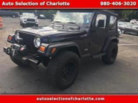 1998 Jeep Wrangler for sale in Charlotte, NC