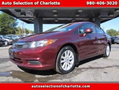 2012 Honda Civic for sale in Charlotte, NC