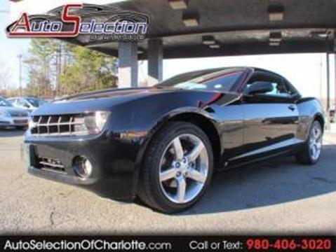 Chevrolet Camaro For Sale In Charlotte Nc Carsforsale Com
