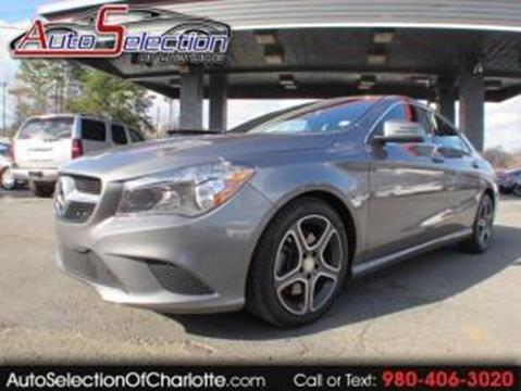 Mercedes benz cla for sale in north carolina for Mercedes benz for sale charlotte nc