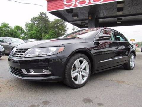 2013 Volkswagen CC for sale at AUTO SELECTION OF CHARLOTTE in Charlotte NC