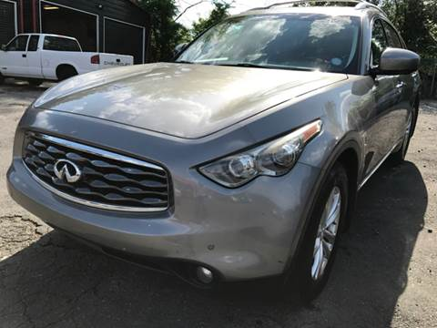 2010 Infiniti FX35 for sale at AUTO SELECTION OF CHARLOTTE in Charlotte NC