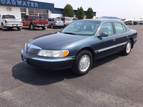 1998 Lincoln Continental for sale in Townsend, MT