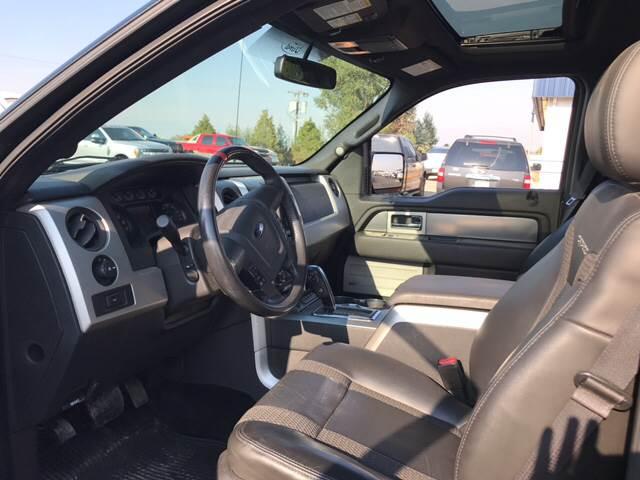 2013 Ford F-150 4x4 SVT Raptor 4dr SuperCrew Styleside 5.5 ft. SB - Townsend MT