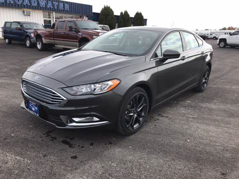 2018 Ford Fusion for sale in Townsend, MT