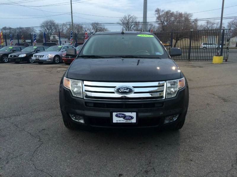 2007 Ford Edge  Miles 87733Color Charcoal Stock 297F VIN 2FMDK49CX7BB50976