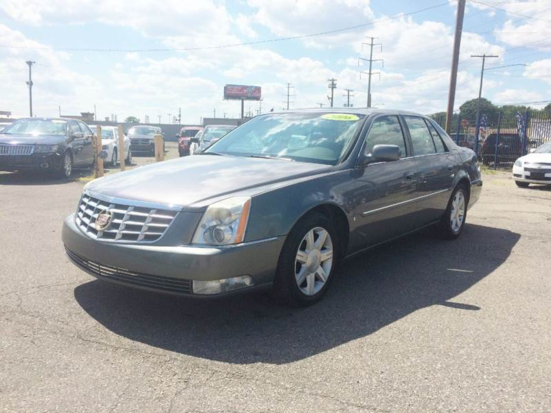 2006 cadillac dts luxury i in detroit mi king auto sales inc. Black Bedroom Furniture Sets. Home Design Ideas