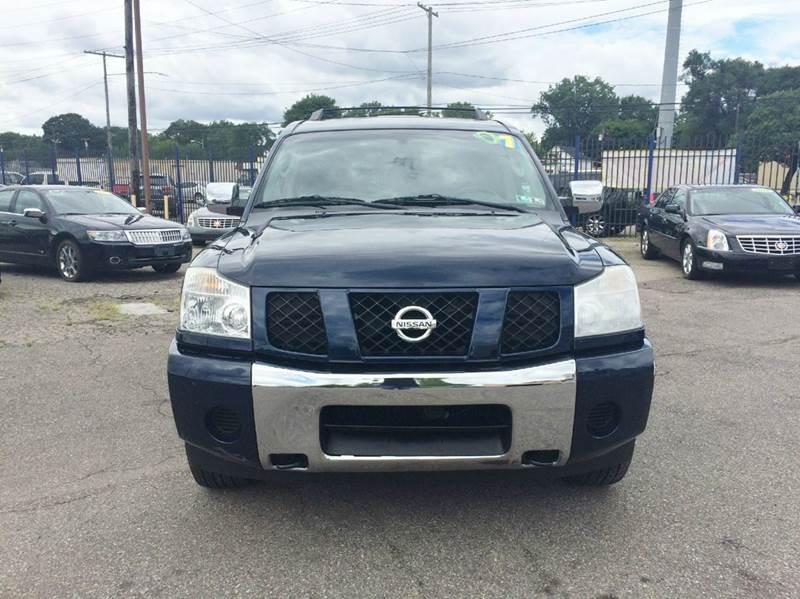 2007 Nissan Armada  Miles 100706Color Blue Stock 424F VIN 5N1AA08C27N707416