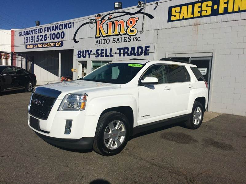 2010 Gmc Terrain car for sale in Detroit