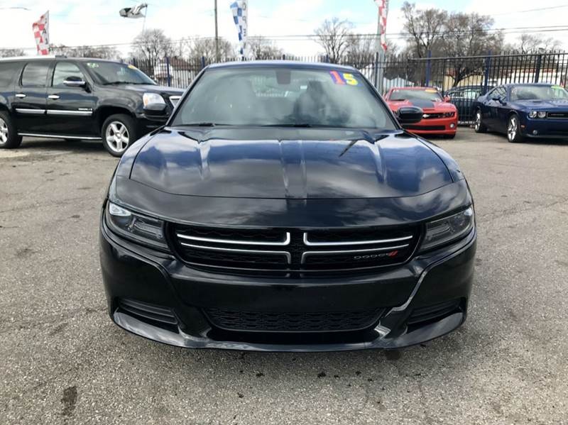 2015 Dodge Charger  Miles 25276Color Black Stock 529F VIN 2C3CDXBG6FH799537