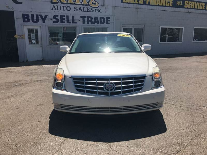 2008 Cadillac Dts  Miles 75004Color White Stock 542F VIN 1G6KD57Y88U121226