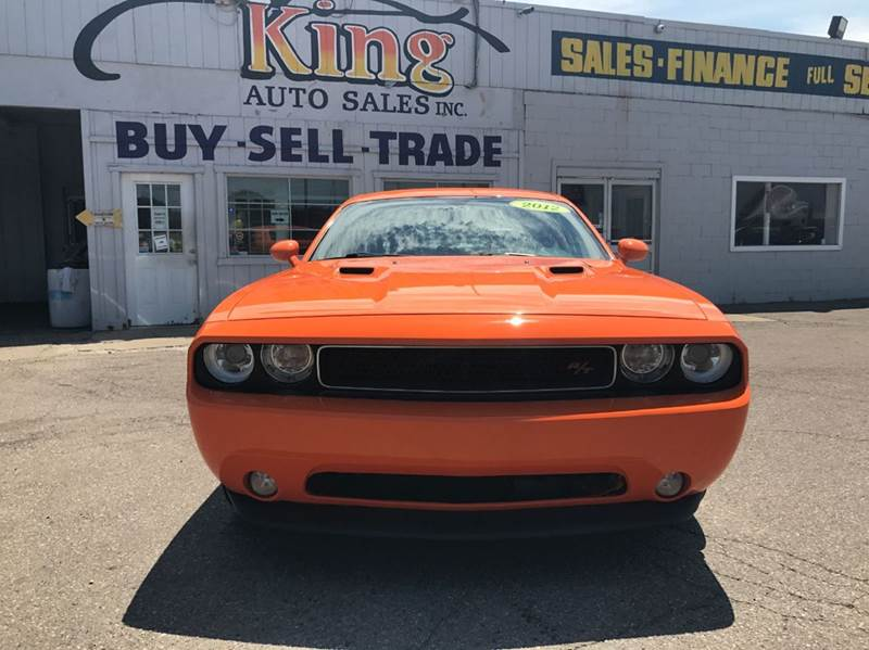 2012 Dodge Challenger  Miles 98811Color Orange Stock 554F VIN 2C3CDYBT1CH253453