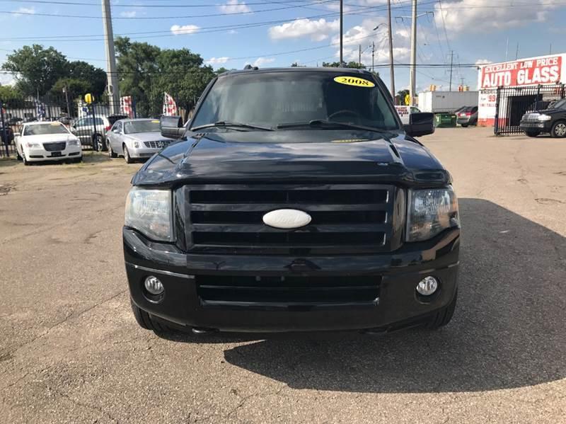 2008 Ford Expedition El  Miles 119842Color Black Stock 546F VIN 1FMFK20508LA29161