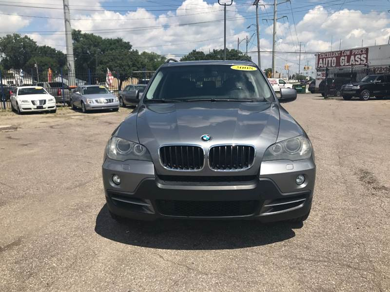 2008 Bmw X5  Miles 111525Color Gray Stock 565F VIN 5UXFE43588L009676