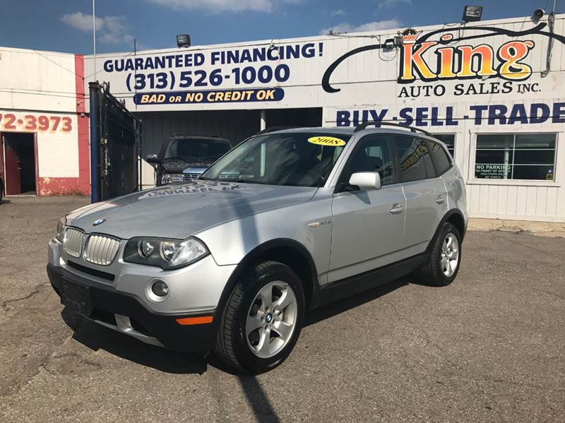 2008 Bmw X3 car for sale in Detroit