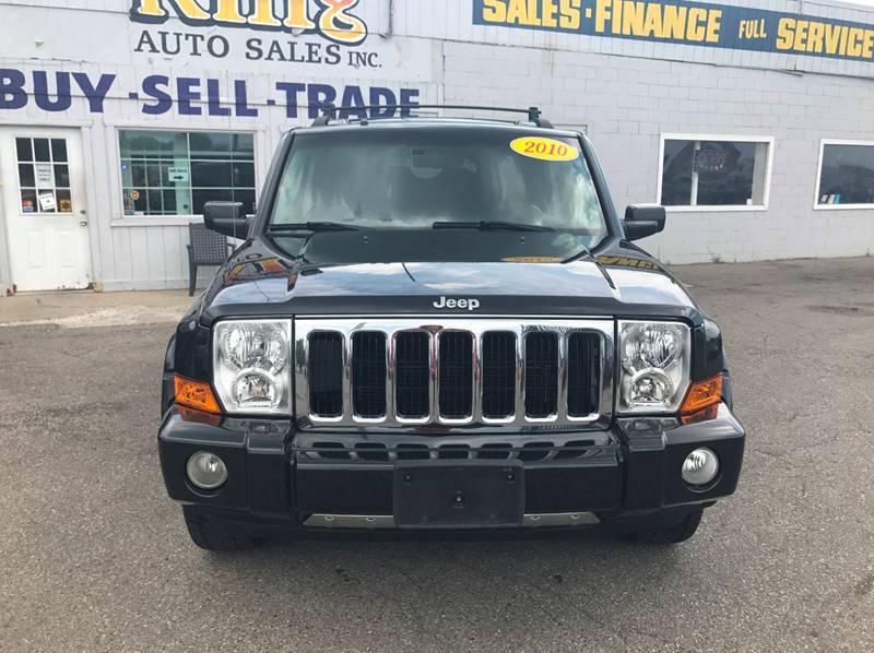 2010 Jeep Commander  Miles 94253Color Black Stock 561F VIN 1J4RG5GT6AC137549