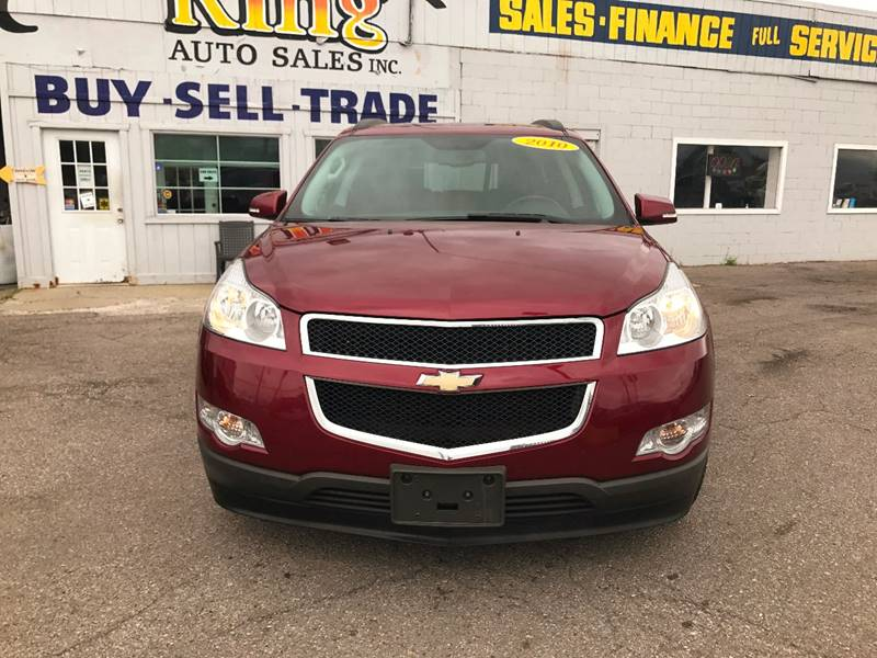 2010 Chevrolet Traverse  Miles 104402Color Red Stock 570F VIN 1GNLVFED4AS147898